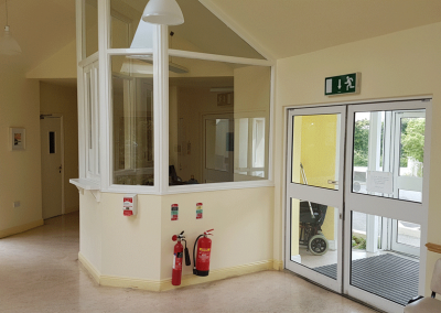Entrance Hall and Reception Area